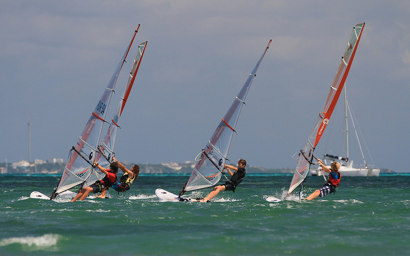 Tight Racing at the NAs in Cancun - Credit: Patrik Pollak