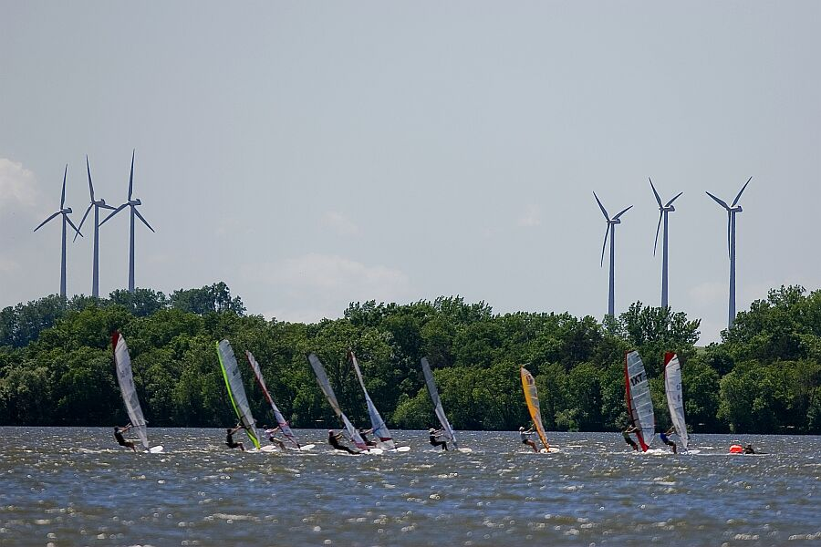 Previous US Windsurfing Nationals in Worthington, MN - Photo Credit: Dan Norman