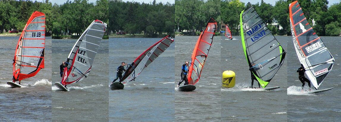 Slalom Action in Worthington (credit: Larry Reed)