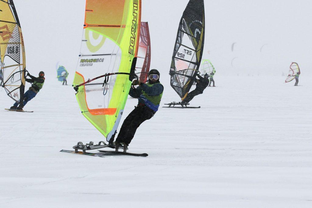 Windsurfing on Snow: a Brief History! – US WINDSURFING